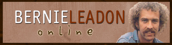 Bernie Leadon Online contains Bernie Leadon photos, lyrics, downloads, and more. Enjoy your visit to BLO!